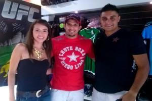 Lutador do UFC encontra fãs em São Caetano do Sul nesse sábado