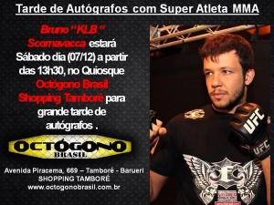 Lutador de MMA Bruno