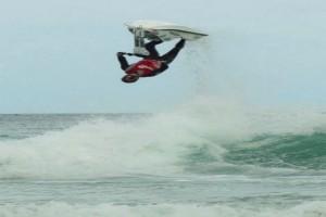 Piloto baiano conquista prêmio por melhor salto no Mundial de Freeride