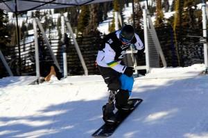 Andre Cintra volta às pistas no Campeonato Brasileiro de Snowboard 2014
