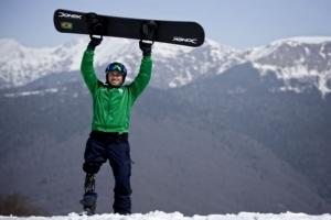 Snowboarder Paralímpico Andre Cintra participará de treinamento internacional no Chile