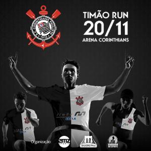 Duas mil pessoas estarão na Timão Run amanhã