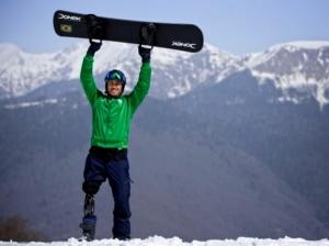Snowboarder Paralímpico Andre Cintra no Canal OFF