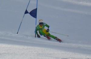 Esquiador baiano volta a representar o Brasil na neve
