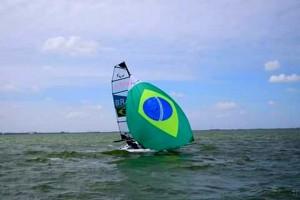 Bruno Landgraf participa de regata no Rio de Janeiro