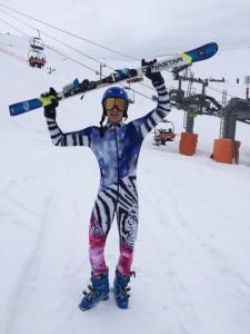 Nathan Alborghetti é ouro no Brasileiro de Esqui Alpino