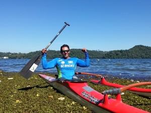 Luis Carlos Cardoso intensifica treinamentos para Copa Brasil de Paracanoagem