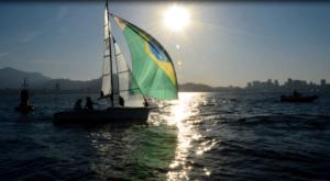 Bruno Landgraf representa o Brasil no Mundial de Vela Adaptada